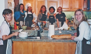 My first McCall's Cooking Class in January 1998