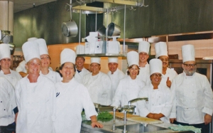 Graduation from Culinary School at UCLA Extension - I'm 4th from the right.
