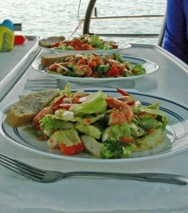 Scampi Salad Group 4-18-11 #2