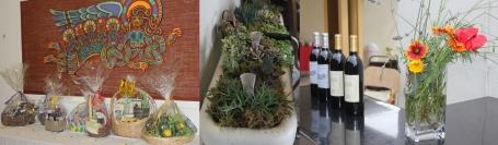 Gift Basket-wine-planter collage 5-11