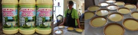 Making Key Lime Pies