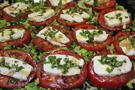 Hazelnut & Chard Ravioli Salad Recipe — Dishmaps