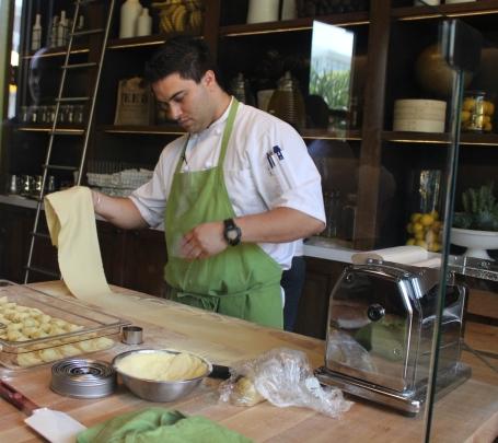 Making Fava Bean & Ricotta Ravioli
