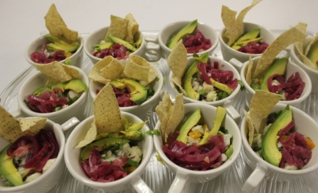Border Grill's Peruvian Ceviche with Pickled Red Onions