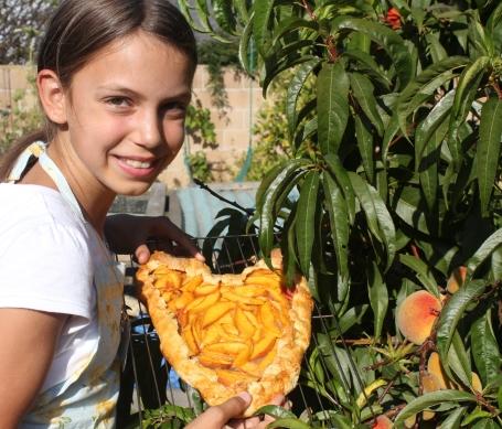 Hannah's Peach Galette