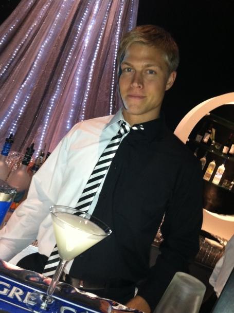A Grey Goose Vodka Gimlet