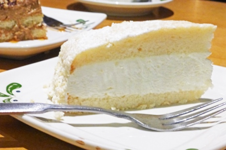Lemon Cream Cake served at Olive Garden.