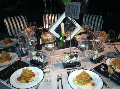 Dinner at the Governors Ball