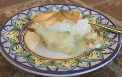 A slice of Banana Cream Pie for me - Yummylicious!