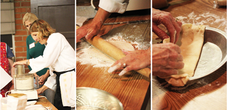 Demonstration of Pie Dough using the Cuisinart