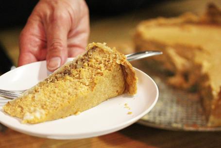 Perfect Pumpkin Pecan Cheesecake!