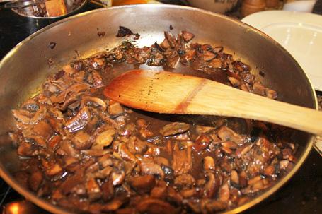 Porcini and Crimini Mushroom Sauce