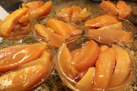 "Erika of ""In Erika's Kitchen"" Poached Quince"