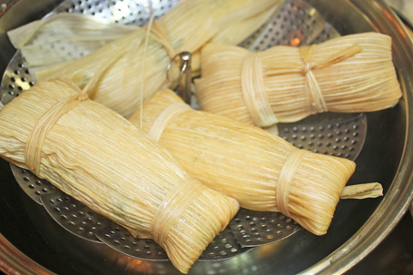 Tamales Cooking Class – April 12, 2012