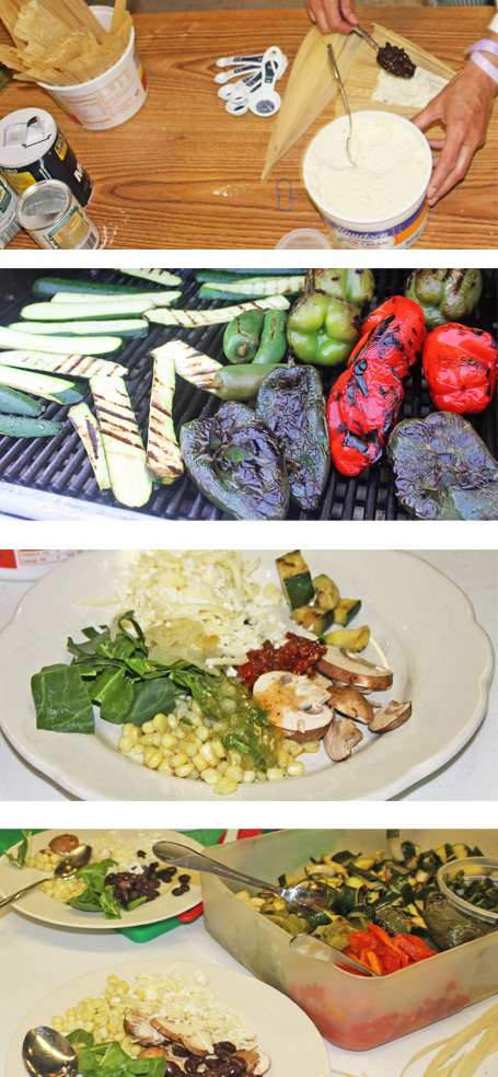 Tamale Ingredients including Prepared Masa from Ramona's
