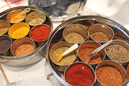Foods of India Cooking Class – May 9, 2012