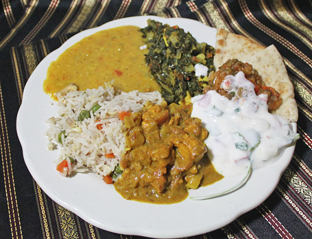 Chicken Curry stars in Foods of India Cooking Class
