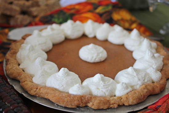 Sweet Potato Pie at our Thanksgiving Feast