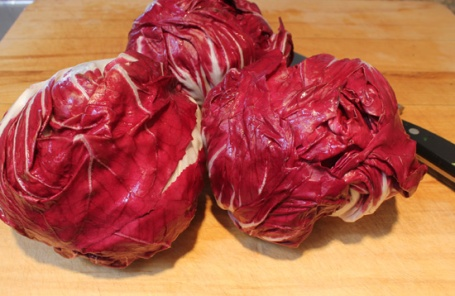 Beautiful heads of Radicchio from Melissa's Produce.