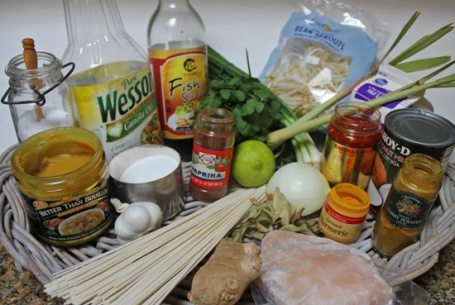 The 22 ingredients in Curry Mee
