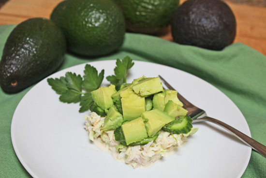 Avocado Grove Tour inspires Crab & Avocado Salad