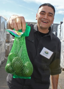 Daniel Rodriquez supervises the ripening process at Mission Produce.