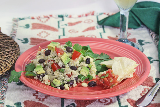 Southwestern Quinoa Salad with Chile-Lime Vinaigrette