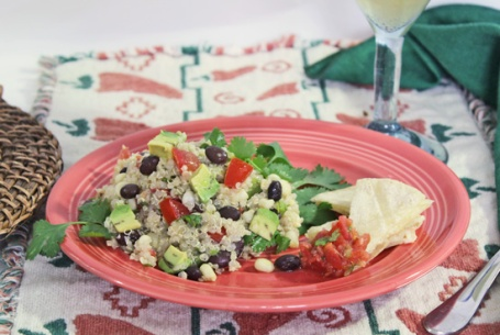 Southwest Quinoa Salad 6 5-5-13