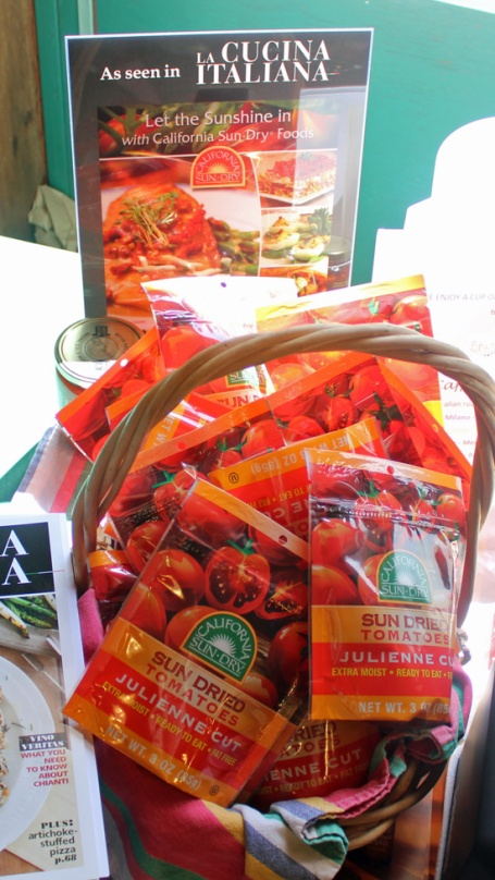 California Sun Dry Julienne Tomatoes were a huge hit at camp!