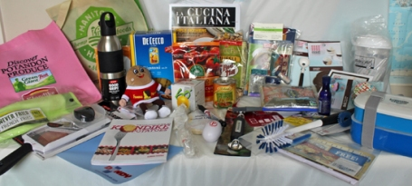 Swag Bag from Camp Blogaway