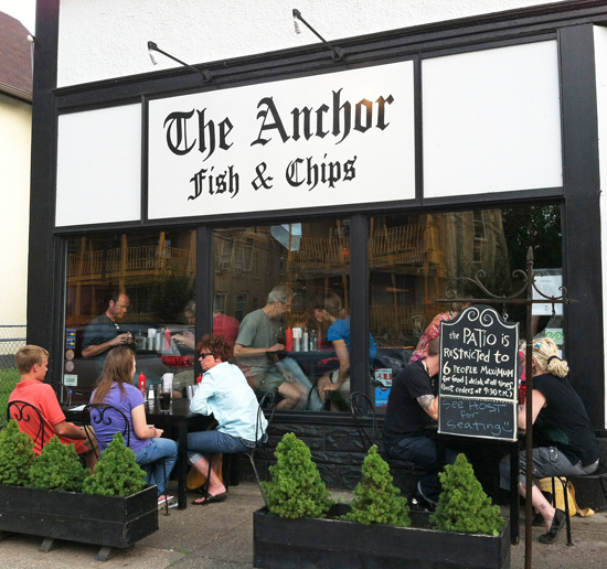 The anchor fish chips in nordeast minneapolis fresh for Anchor fish and chips