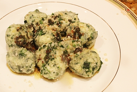 Spinach & Ricotta Gnocchi - simply angelic!