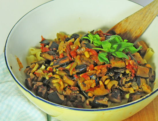 Italian Caponata goes with everything!