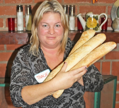 Let baguettes cool and then devour!