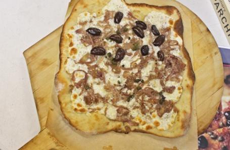 Caramelized Onion, Kalamata Olives, Pizza