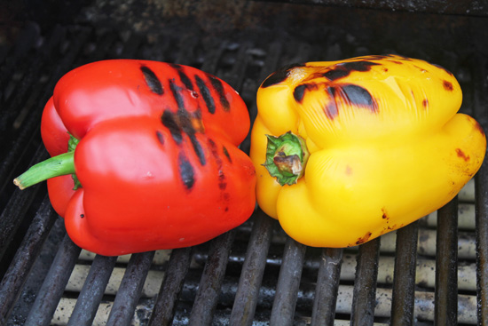 How to Roast a Red Pepper…yellow, orange or green.