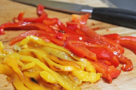 Roasted Red Pepper Strips 10-13