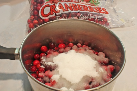 Dump all ingredients into a medium saucepan and stir.