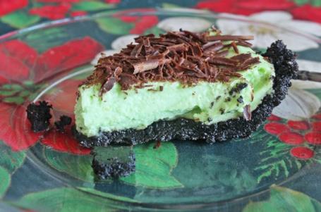 Grasshopper Pie: A Festive Christmas Dessert