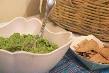 Ranch Guacamole and Baked Chips