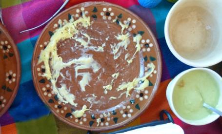 Queso Fundido with Chorizo in La Paz, Mexico disappeared.